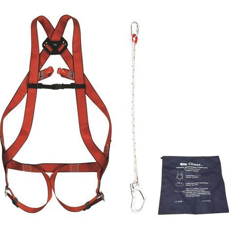 HARNAIS DE SECURITE MAXIPRO 2 POINT D'ANCRAGE -SPECIAL ECHAFAUDAGE-S18243