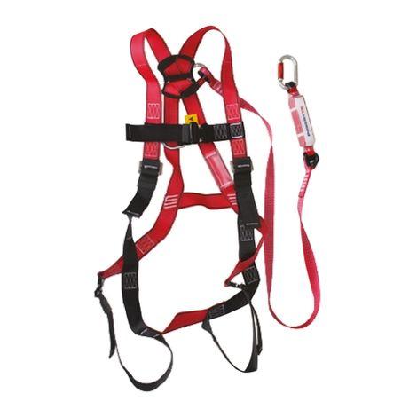 Harnais de sécurité RS PRO, fixation Sternal, Dorsal Haute visibilité