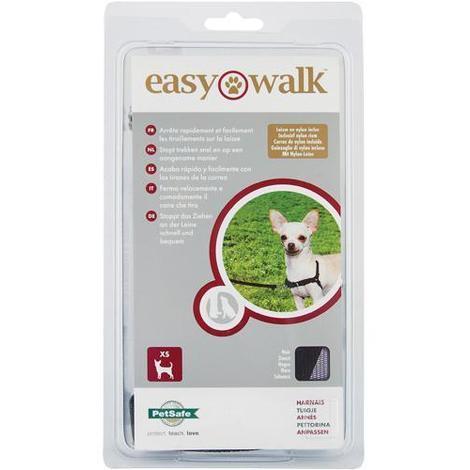 Harnais Easy Walk et Laisse Rouge