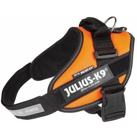 Harnais Julius K9 avec bandeau réfléchissant et poignée sur le dos pour les chiens Julius-K9