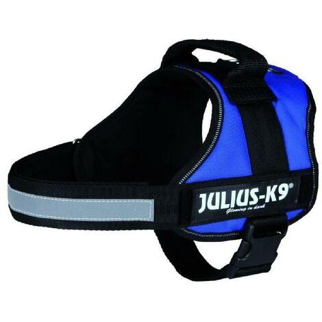 Harnais Power Julius-K9 - 0 - M-L - 58-76 cm-40 mm - Bleu - Pour chien