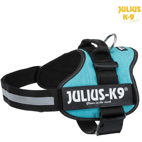 Harnais Power Julius K9 taille L XL D71-96cm H50mm ocean