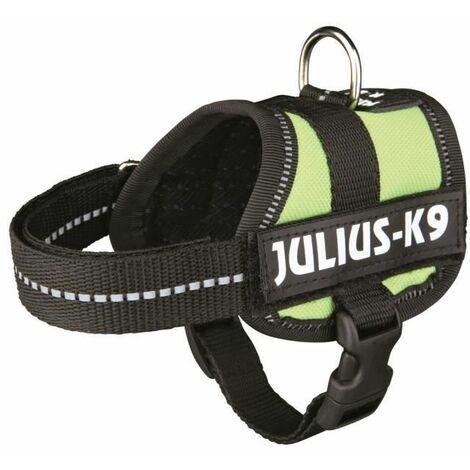 Harnais Power Julius-K9 - Baby 1 - XS - 30-40 cm-18 mm - Vert pastel - Pour chien