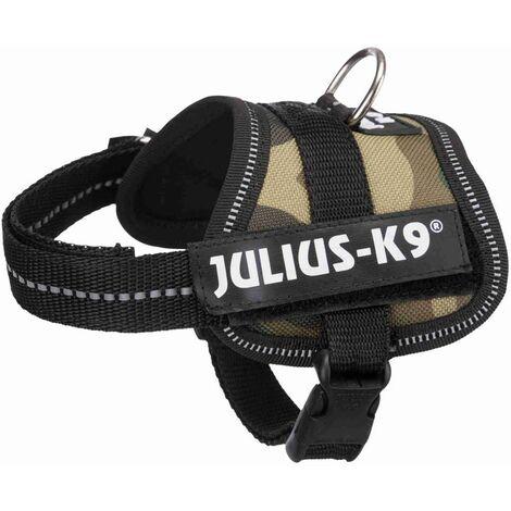 Harnais Power Julius-K9 - Baby 2 - XS-S - 33-45 cm-18 mm - Camouflage - Pour chien