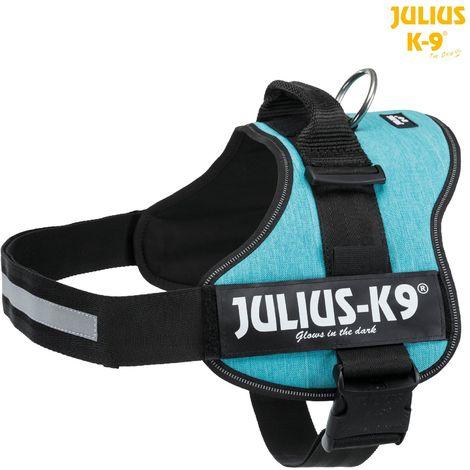 Harnais Power Julius K9 taille XL XXL D82-116cm H50mm ocean
