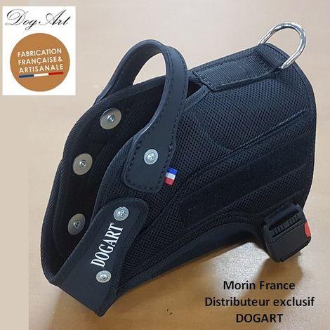 Harnais PRO+ DOGART Désignation : Harnais PRO+ / Double boucle   Taille : Taille 1 DOGART 51846