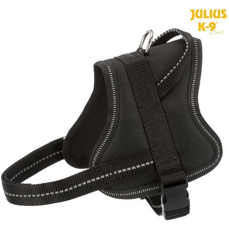 Harnais Pure Julius K9 Mini taille M 51-67cm H22mm noir
