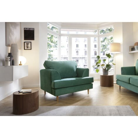 Harper Armchair - color Forest Green