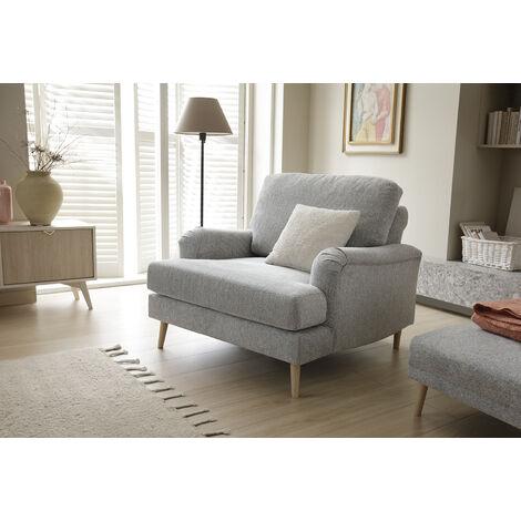 Harper Armchair - color Light Grey
