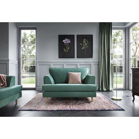 """main image of """"Harper Cuddle Chair - color Forest Green"""""""