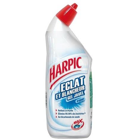 HARPIC - Gel nettoyant WC Harpic javel - 750mL