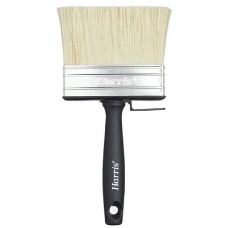 Harris Essentials Block Paint Brush (100mm) (Black)