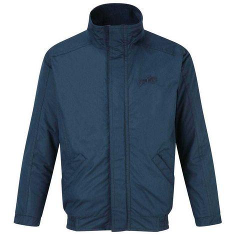 Harry Hall Childrens Blouson Jacket (11-12 Years) (Navy Blue)