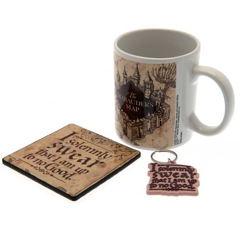 Harry Potter Mug And Coaster Set (One Size) (Multi Coloured)