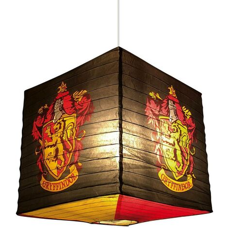 Harry Potter Paper Gryffindor Light Shade (One Size) (Brown/Yellow/Red)