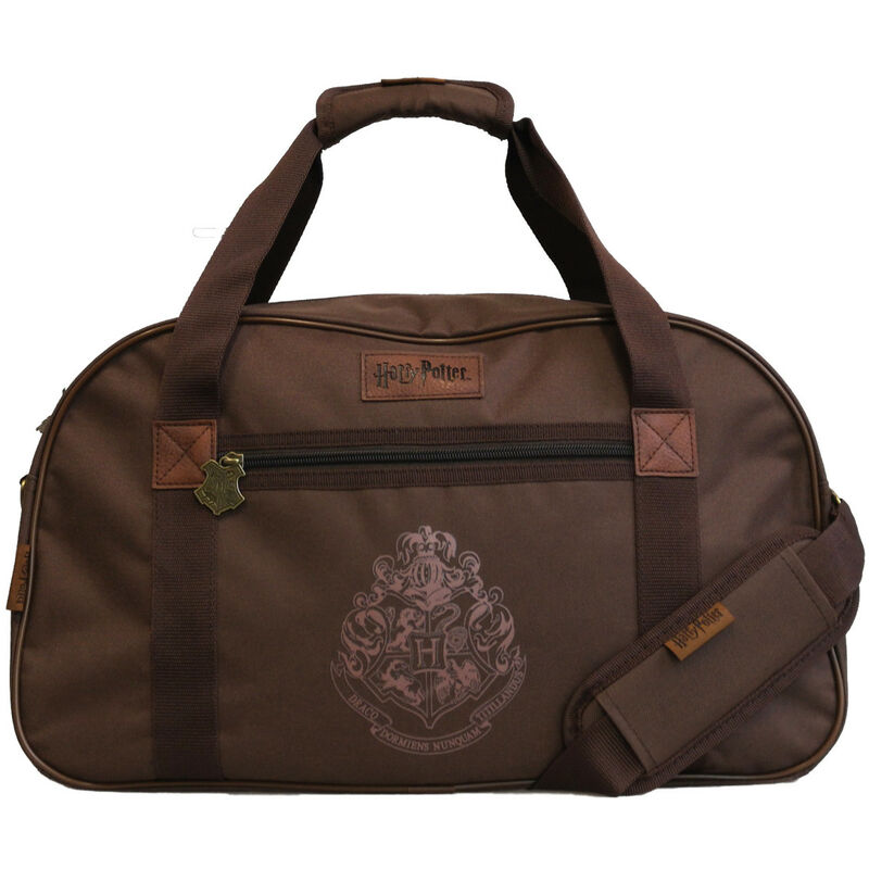 Image of Groovy - Harry Potter Sports Holdall Gym Bag Hogwarts Vintage Leather Official