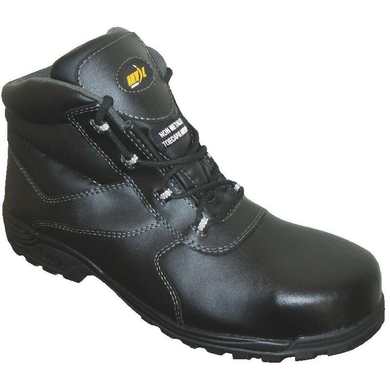 Image of Anvil Traction Hartford Men's Black Slip Resistant Safety Boots - Size 8