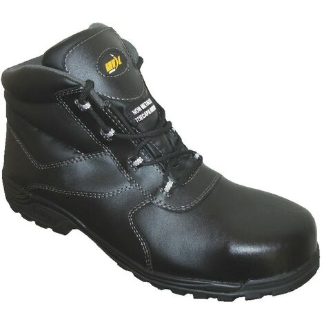 Hartford Men's Black Safety Boots