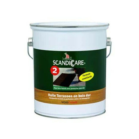 Hartholz Decks Öl 1L ScandiCare