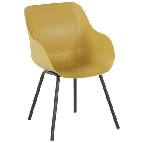 Hartman Outdoor Chairs 2 pcs Sophie Rondo Organic Curry Yellow