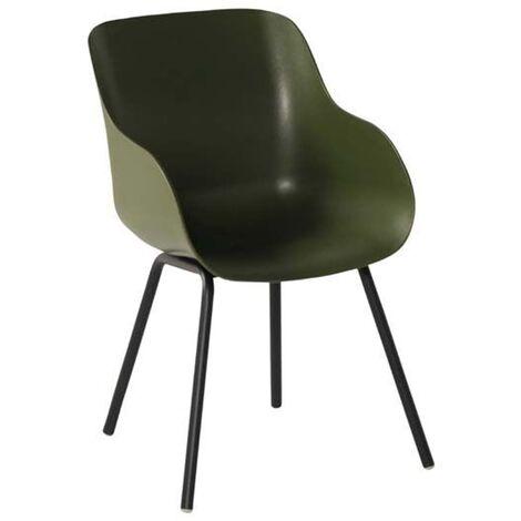 Hartman Outdoor Chairs 2 pcs Sophie Rondo Organic Moss Green