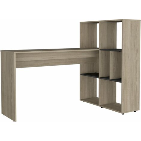 Harvey corner desk with bookcase