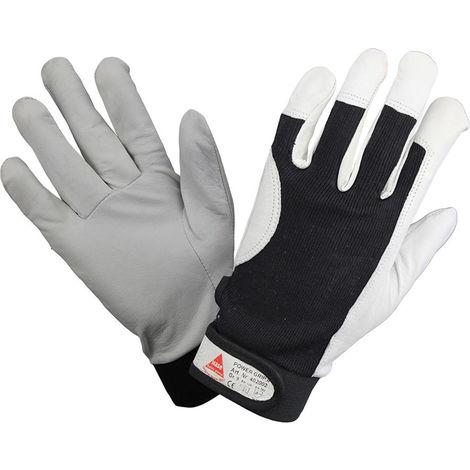 Hase Handschuh Nappaleder mit Klett. Gr. 8