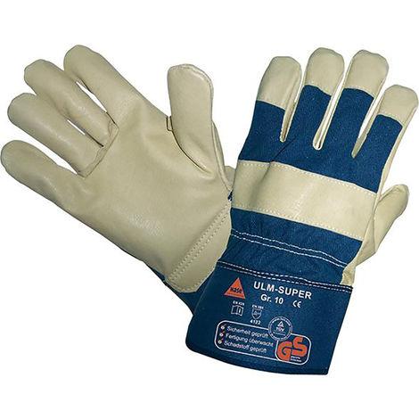 Hase Safety Gloves Handschuh Ulm-Super Schweinsnarbenleder TÜV-GS Gr.10 (Inh.12 Paar)