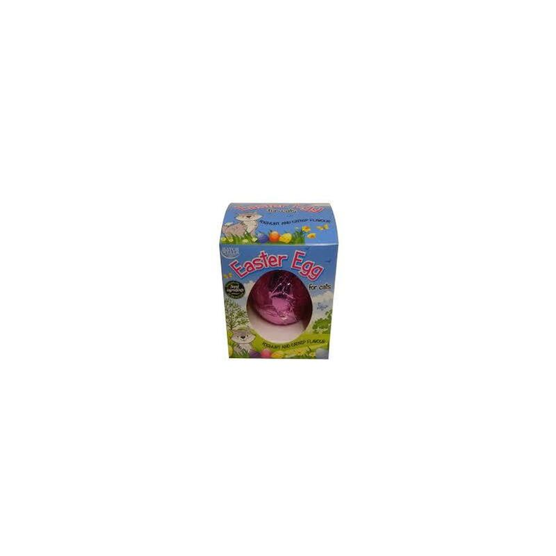 Image of Cat Yoghurt Drop/Catnip Easter Egg 40g x 6 (91290) - Hatchwells