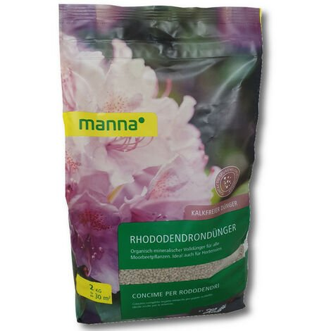 Hauert MANNA engrais pour rhododendrons 1 kg engrais pour azalées, engrais pour bruyère, plantes de terre de bruyère