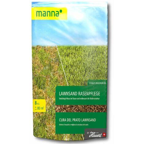 Hauert MANNA® LawnSand 8 kg Stickstoff-Rasendünger mit Eisen