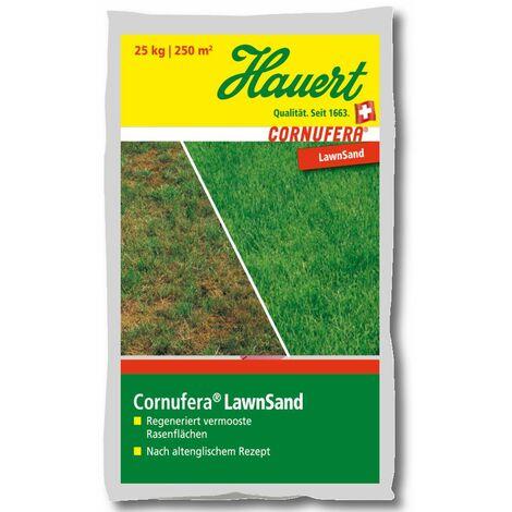 Hauert Rasendünger Cornufera® LawnSand Regeneration 25 kg Moos Verdrägung