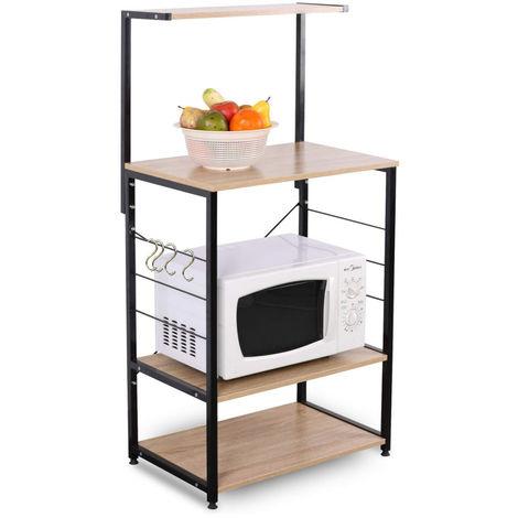 Haushaltsregal Küchenregal Holz Stahl RGB9285hei