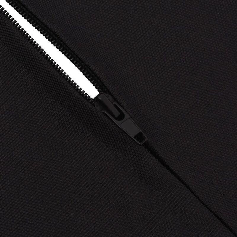 vidaXL Haustier-Rücksitzbezug Autositzbezug Sitzschutz 148 x 142 cm Schwarz