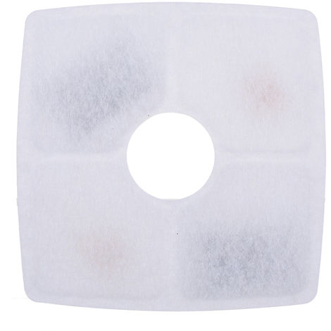 Haustier-Wasserfilter, quadratisch, 6er-Pack