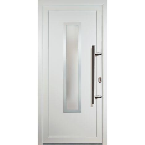 Haustür JM Signum PVC Model 32, innen: weiß, außen: weiß