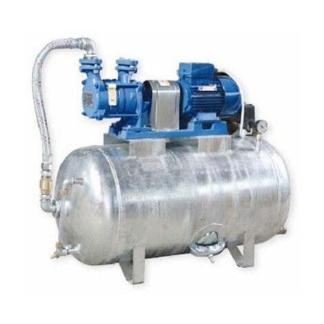 Hauswasserwerk 1,1 kW 230V 91 l/min 150L Druckbehälter verzinkt Druckkessel Set Wasserpumpe Gartenpumpe