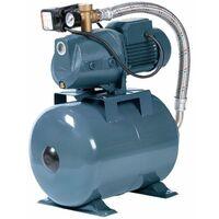 Hauswasserwerk 80L Speicher 1800W 6000L Jetpumpe Gartenpumpe Messing