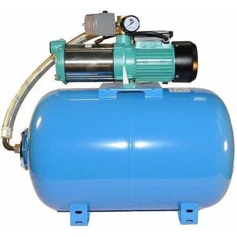 Hauswasserwerk Wasserpumpe 400V 1300-2200W Druckbehälter Gartenpumpe Set