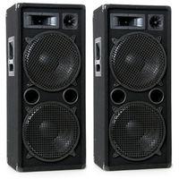 Haut-parleur 3 voie baffle 1600 watts PA D.J. disco party Omnitronic DX-2022