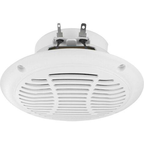 Haut-parleur dextérieur Monacor SPE-110P/WS SPE-110P/WS 15 W IP65 blanc 1 pc(s)