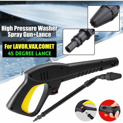 Haute pression Laveuse Nettoyeur Pistolet lavage + 45¡ã Buse Pr LAVOR/VAX/COMET