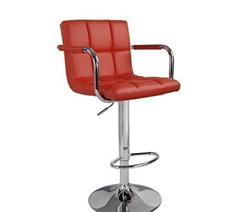Havana Faux Leather Swivel Breakfast Kitchen Barstool