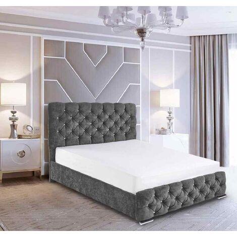 """main image of """"Havana Upholstered Beds - - Crush Velvet"""""""