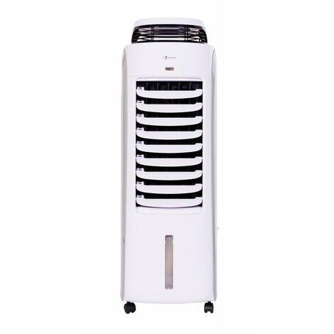 Haverland BAE | Ambientador evaporativo móvil de bajo consumo | Hasta 35 m² | Silencioso | 8 funciones | Persianas oscilantes | 120 W | Capacidad del tanque de agua 13L | Blanco
