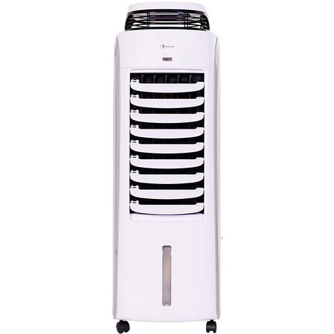 Haverland BAE Rafraichisseur d'air Mobile 120W | 13L | 35m² | Silencieux| Humidificateur | 8 Vitesses | Anti-moustique