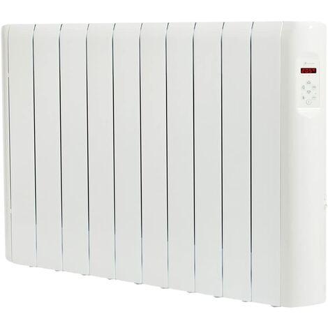 Haverland RCE10S Radiateur électrique à inertie fluide caloporteur 1500 W | Design Compact | Indicateur de consommation | Blanc