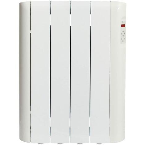 Haverland RCE4S Radiateur électrique à inertie fluide caloporteur 600 W | Design Compact | Indicateur de consommation | Blanc
