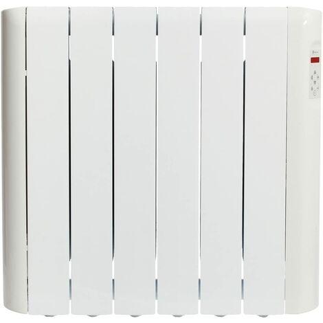 Haverland RCE6S Radiateur électrique à inertie fluide caloporteur 900 W | Design Compact | Indicateur de consommation | Blanc
