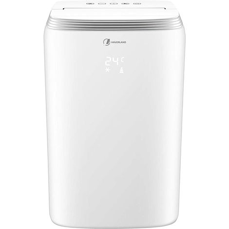 Haverland TAC-0919 9000BTU Climatiseur Mobile 3 en 1 | 18-23m² | Ventilateur | Déshumidificateur | telecommande | 2.6kW | Classe A